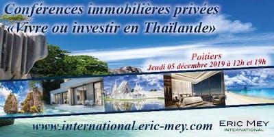 """Conférences Privées """"Vivre ou investir en Thaïlande"""""""
