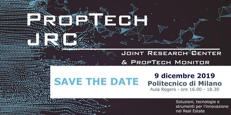 Joint Research Center & PropTech Monitor biglietti