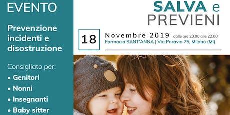 SALVA e PREVIENI_Farmacia Sant'Anna biglietti