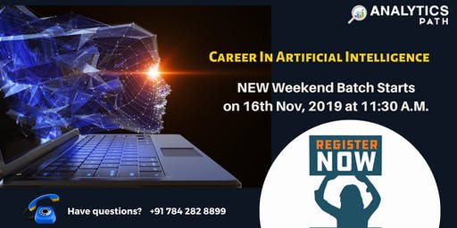 New Weekend Batch On AI Analytics Path From 16th Nov, 11:30 AM