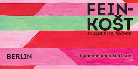 10 Jahre FEINKOŠT – Die tschechisch-deutsche Kurzfilmtournee tickets