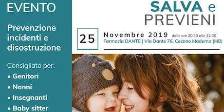 SALVA e PREVIENI_Farmacia DANTE biglietti