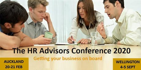 HR Advisors Conference 2020 tickets