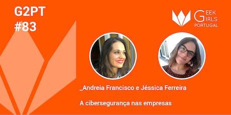 G2PT83 - 83º Geek Girls Portugal - Coimbra bilhetes