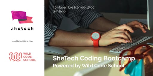 SheTech Coding Bootcamp #1 powered by Wild Code School