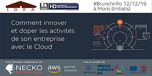 #BrunchInfo: innover et doper ses activités d'entreprise grâce au Cloud