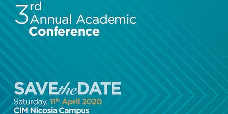 3rd Annual Academic  Conference tickets