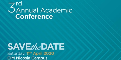 3rd Annual Academic  Conference - Entering a new era tickets