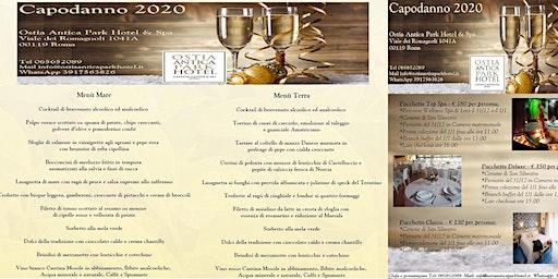 Capodanno 2020 Roma Ostia Antica Park Hotel & Spa Pacchetti con Spa Cenone