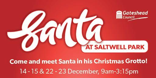 Santa at Saltwell Park