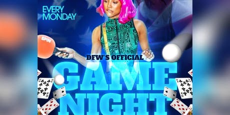 DFWs Official Game Night - Pool, Ping Pong, MNF, Cards, PS4 & more tickets