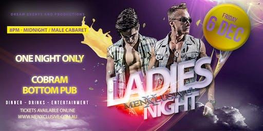 Cobram ladies Night MenXclusive 6 DEC