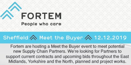 Fortem Meet The Buyer - Sheffield