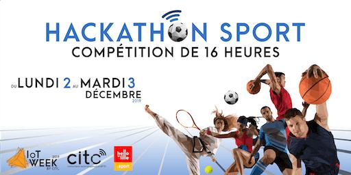 Hackathon Sport et Innovation : imaginons le  monde du sport de demain !