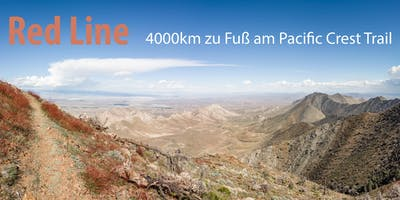 Red Line,  4000km zu Fuss am Pacific Crest Trail mit Stefan Weinberger
