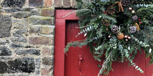 Festive Christmas Wreath Workshop at Larchfield Estate