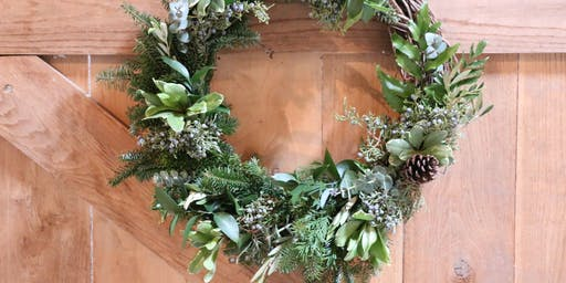 Holiday Wreath Workshop at The Stables