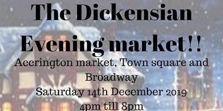 Dickensian evening Market tickets
