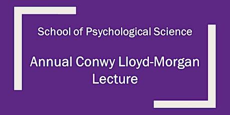 Annual Conwy Lloyd-Morgan Lecture tickets