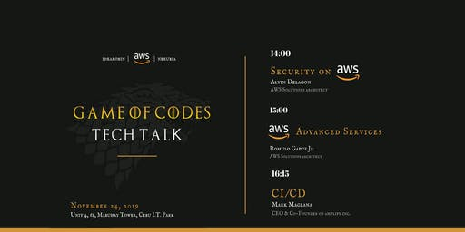 Game of Codes Tech Talk