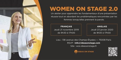 Women on Stage 2.0 (in English) billets