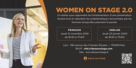 Women on Stage 2.0 (in English) tickets