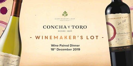 Concha y Toro Wine Dinner @ Coriander Leaf (CHIJMES)