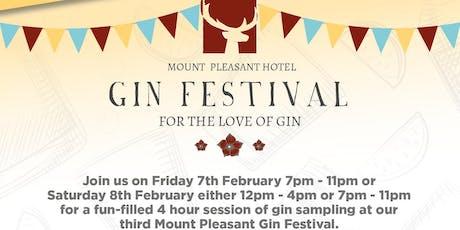 Mount Pleasant Gin Festival - Friday Night tickets