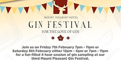 Mount Pleasant Gin Festival - Friday Night tickets