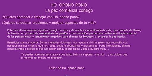 Taller Ho,opono pono