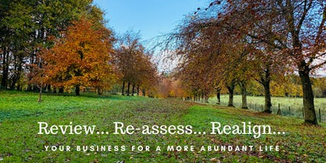 Review-Reassess-Realign your business for an abundant life tickets