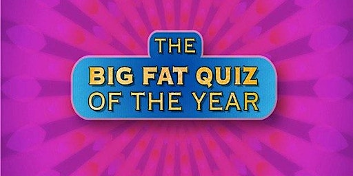 The Big Fat Quiz Of The Year 2019