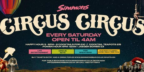 Circus Circus Every Saturday tickets