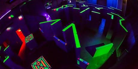 Laser tag tickets