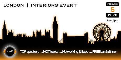 Specifi London 1 - INTERIORS EVENT tickets
