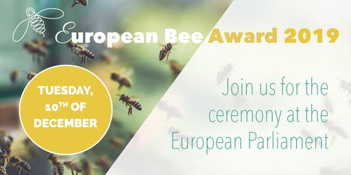 Ceremony of the European Bee Award 2019