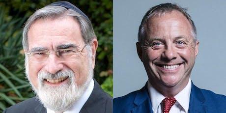 Shabbat with Rabbi Lord Sacks & Lord Mann tickets