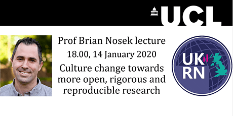 Brian Nosek lecture: Open, rigorous and reproducible research tickets