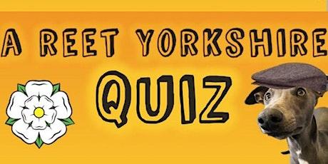 A Reet Yorkshire Quiz tickets