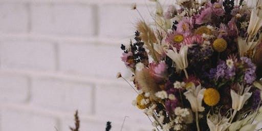 Dry Flower Bouquet Workshop