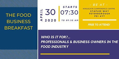 The Food Business Breakfast tickets