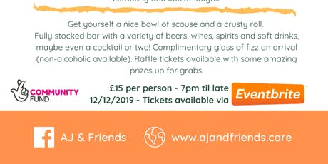 Scouse & quiz night tickets