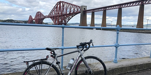 Cycle tour Edinburgh to Forth Bridges
