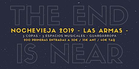 Nochevieja 2019 en Las Armas entradas