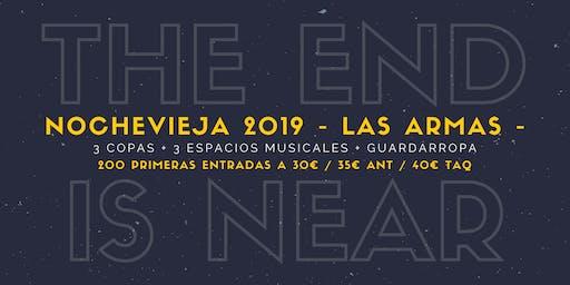 Nochevieja 2019 en Las Armas