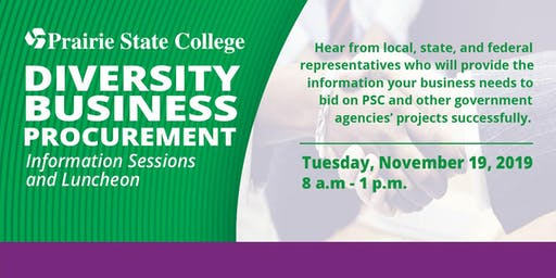 Diversity Business Procurement Information Sessions and Luncheon