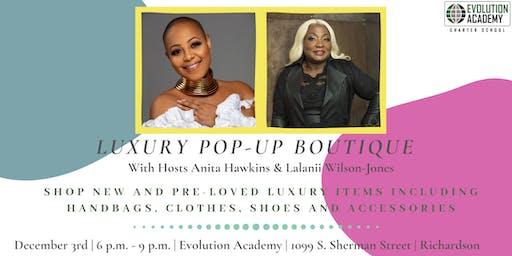 Evolution Academy Presents Luxury Pop-Up Boutique