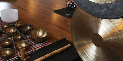Gong Bath & Sound Journey: Dive Into Deep Relaxation with Craig Eddington