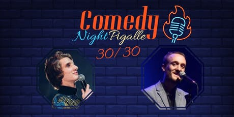 Comedy Night Pigalle #10 billets