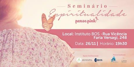 Seminário de Espiritualidade ingressos